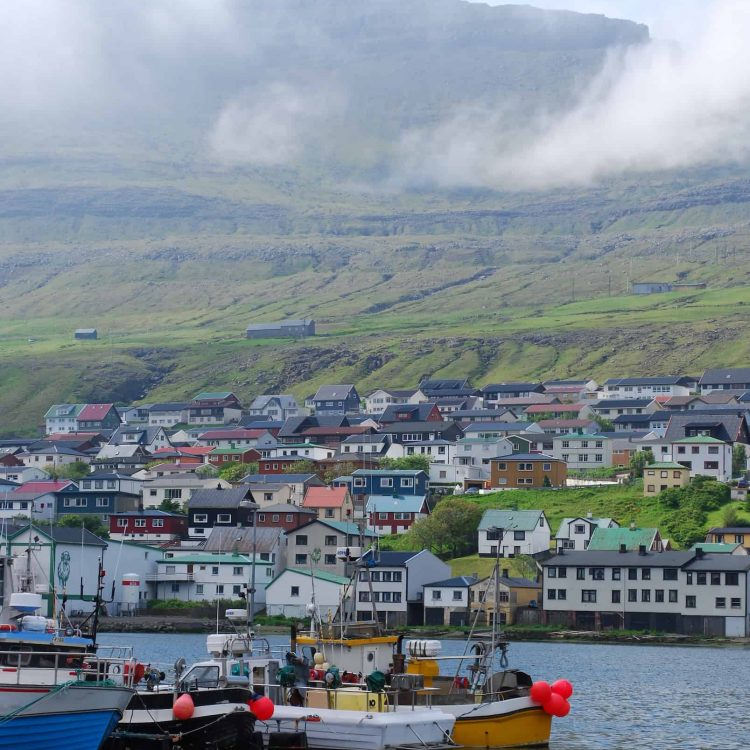 Pictures from photographers which the camera company Nikon had invited to the Faroe Islands
